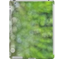 Nature abstraction #3 (50 shades of green) iPad Case/Skin