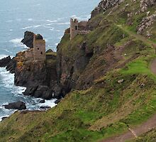 Old Tin Mine Cornwall by kirilart