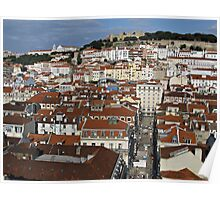 City view of Lisbon Poster