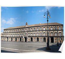 Naples Royal Palace Poster