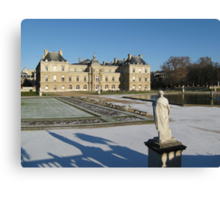 The Luxembourg Palace in Paris France Canvas Print