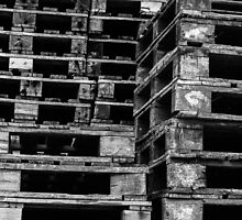 Stacking Crates by George Barnes