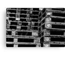 Stacking Crates Canvas Print