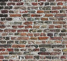 Colorful Bricks Background by kirilart