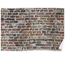 Colorful Bricks Background Poster