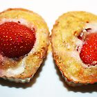 Strawberry and Banana Muffin by Ticker