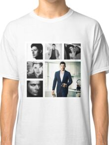 Jensen Ackles in (somewhat) Black and White Classic T-Shirt