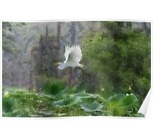 Flight In Foliage Poster