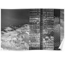 Office Buildings White Plains NY Poster