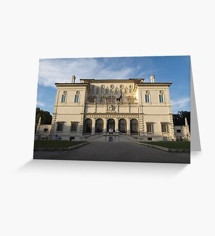 Villa Borghese in Rome Greeting Card