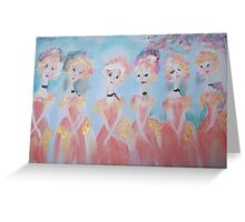 Come dance with me by Judith Desrosiers Greeting Card
