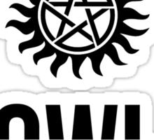 Descriptive - Crowley Sticker