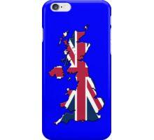 Smartphone Case - Cool Britannia - Blue Background iPhone Case/Skin