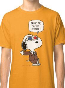 Peanuts Trust Me Im Doctor Classic T-Shirt