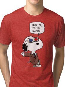 Peanuts Trust Me Im Doctor Tri-blend T-Shirt