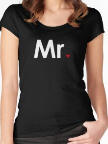 Couple - Mister Heart (Dark edition) Women's Fitted Scoop T-Shirt