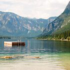 Diving Platform in Lake Bohinj by jojobob