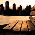 Vancouver bench by Denise Couturier