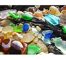Seaglass Art Prints Coasta Beach Sea Glass Photographic Print