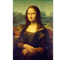 Mona Lisa by Leonardo da Vinci Photographic Print
