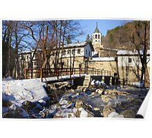 Dryanovo Monastery in the Winter Poster