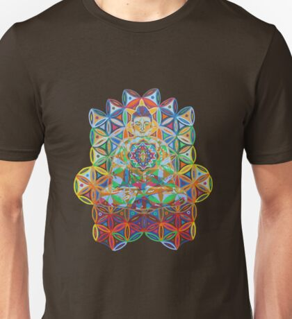 Vipassana - 2012 - Buddha on chair as Tshirt Unisex T-Shirt