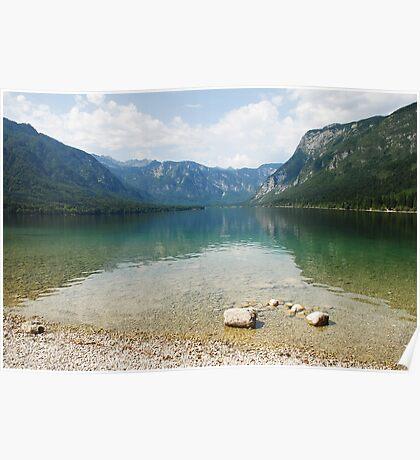 Lake Bohinj Shore, Slovenia Poster