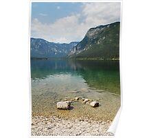 Lake Bohinj Shore Poster