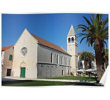 St Dominic monastery in Trogir Poster