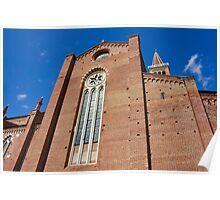 Santa Anastasia church in Verona Poster