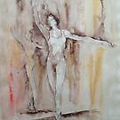 En Pointe – Ballet Painting by Ballet Dance-Artist