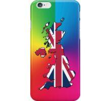 Smartphone Case - Cool Britannia - Spectrum Background iPhone Case/Skin