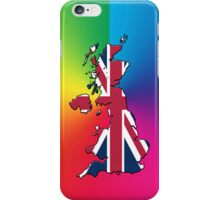 Smartphone Case - Cool Britannia - Spectrum Background iPhone Case/Skin