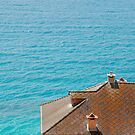 Roof Overlooking Sea by jojobob