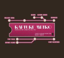 Rapture Metro by OCD Gamer Retro Gaming Art & Clothing