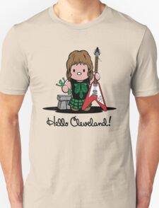 Hello Cleveland! Unisex T-Shirt