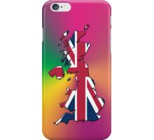 Smartphone Case - Cool Britannia - Yellow Green Magenta Background iPhone Case/Skin