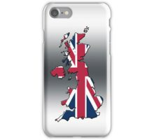 Smartphone Case - Cool Britannia - Silver Background iPhone Case/Skin