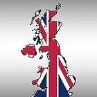 Iphone Case - Cool Britannia - Steel Background by Mark Podger
