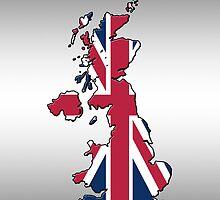 Smartphone Case - Cool Britannia - Steel Background by Mark Podger