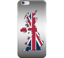Smartphone Case - Cool Britannia - Steel Background iPhone Case/Skin