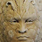 masked in stone by Joseph Valcourt/Modernus Art Studio