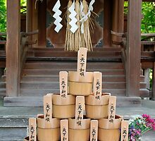 Water Buckets at Eikando Temple by jojobob