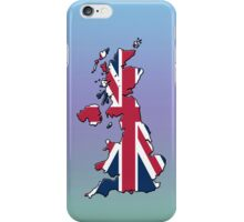 Smartphone Case - Cool Britannia - Green Purple Blue Background iPhone Case/Skin