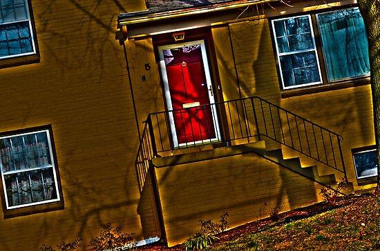Red Door by Cranemann
