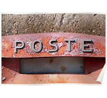 Poste Poster