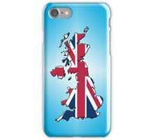 Smartphone Case - Cool Britannia - Cyan Diamond Background iPhone Case/Skin