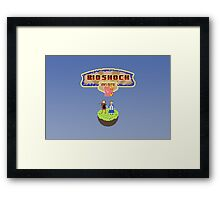 Spirit in the Sky (Print) Framed Print