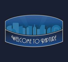 Bioshock Welcome to Rapture by OCD Gamer Retro Gaming Art & Clothing