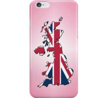 Smartphone Case - Cool Britannia - Pink Diamond Background iPhone Case/Skin